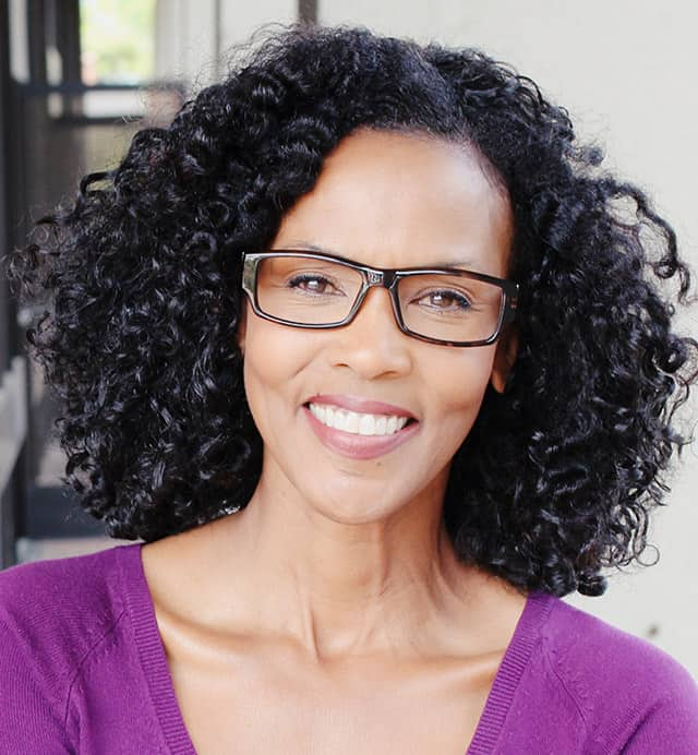 African American women in glasses - ROI as an individual